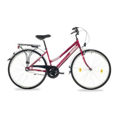 """Csepel Landrider 28"""" kerékpár, 3 seb. agyváltó - Piros"""