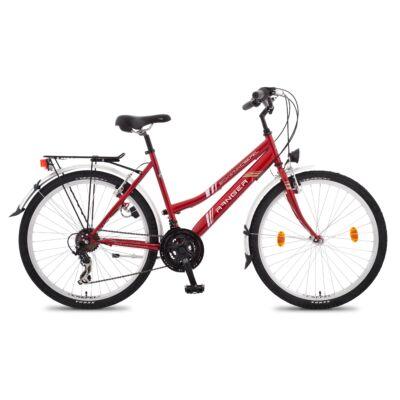 """Csepel Ranger 26"""" kerékpár - Piros"""