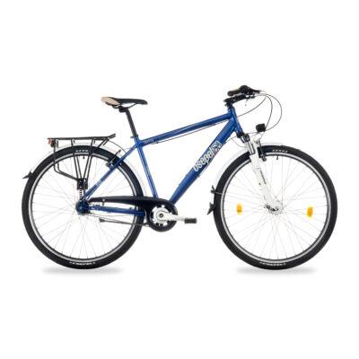 """Csepel Spring 200 28"""" 7 seb agyváltós férfi kerékpár - Kék"""