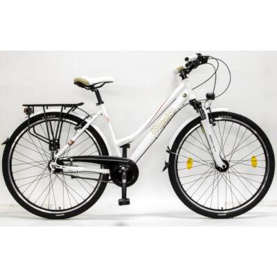 """Csepel Spring 200 28"""" 7 seb agyváltós kerékpár - Fehér"""