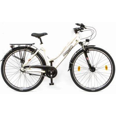 """Csepel Spring 100 28"""" 3 seb agyváltós kerékpár - Fehér"""