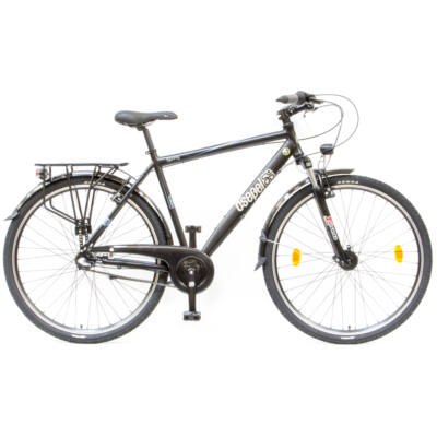 """Csepel Spring 100 28"""" 3 seb agyváltós férfi kerékpár - Fekete"""