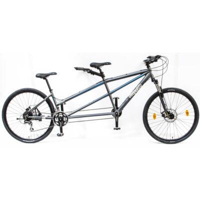 Csepel tandem teleszkópos kerékpár - Szürke