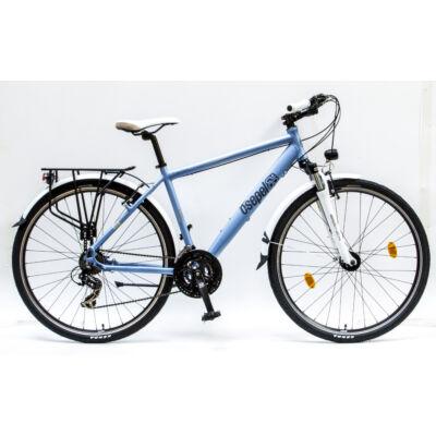 """Csepel Traction 200 28"""", Agydinamós Férfi kerékpár - Matt Kék"""