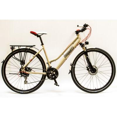 """Csepel Traction 300 28"""", Tárcsafékes kerékpár - Krém"""