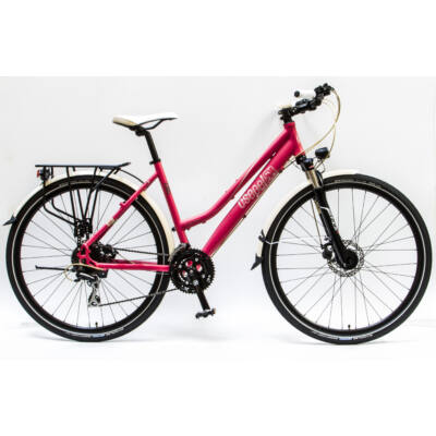 """Csepel Traction 300 28"""", Tárcsafékes kerékpár - Matt Piros"""