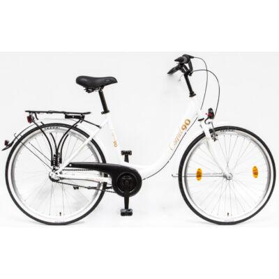 """Csepel Budapest B 26"""" felnőtt kerékpár, 3 seb. agyváltó - Fehér limitált 90'"""
