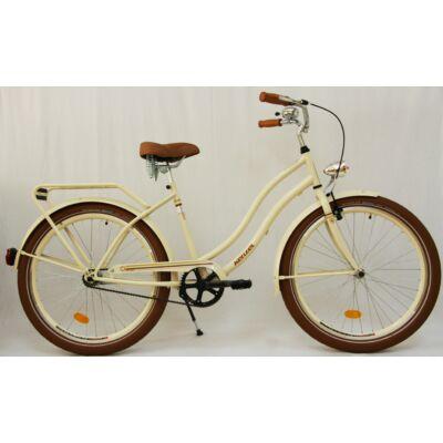 Kenzel Cruiser kerékpár - Krém extra