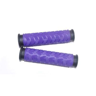 Kerékpár markolat gumis - lila 130 mm