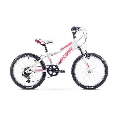 """Romet Jolene 20"""" 2018 gyermek kerékpár - Fehér/Pink"""
