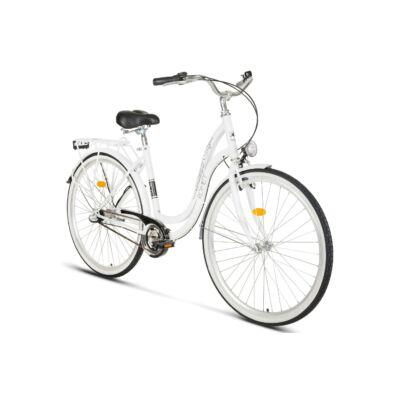 """Romet Angel 28"""" kerékpár - Fehér"""
