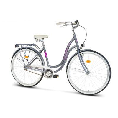 """Romet Angel 28"""" kerékpár - Grafit"""