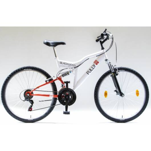Csepel Blackwood Fully 26 kerékpár