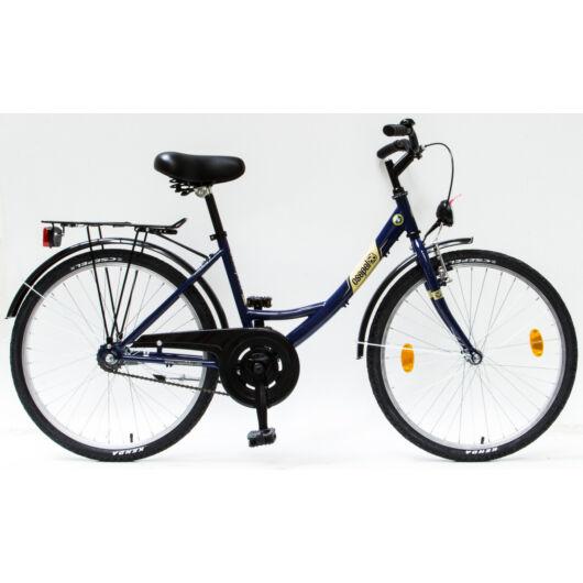 """Csepel Budapest 24"""" Gyermek kerékpár - Kék"""