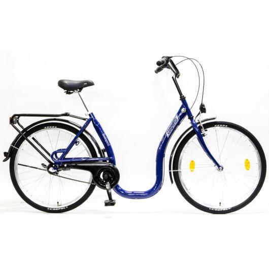 """Csepel Budapest 26"""" C felnőtt kerékpár, 3 seb. agyváltó - Kék"""