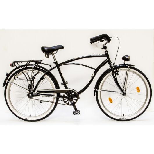 Csepel Cruiser férfi kerékpár - Fekete