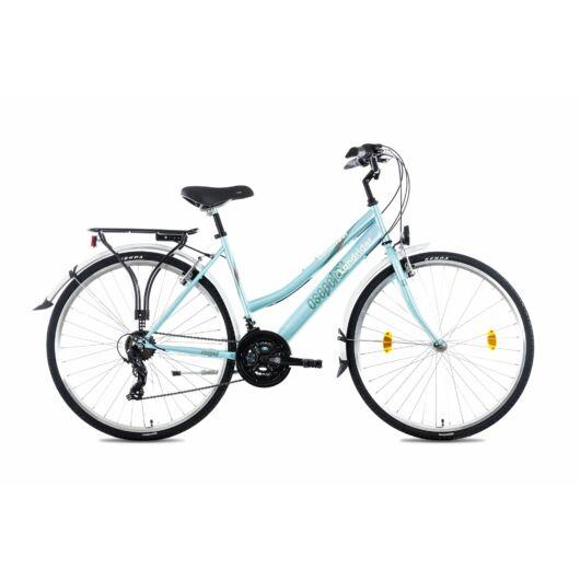"""Csepel Landrider 28"""" kerékpár - Türkiz"""