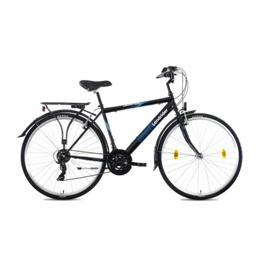 """Csepel Landrider 28"""" férfi kerékpár - Fekete"""