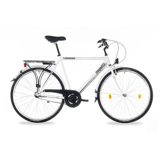 """Csepel Landrider 28"""" férfi kerékpár, 3 seb. agyváltó - Fehér"""