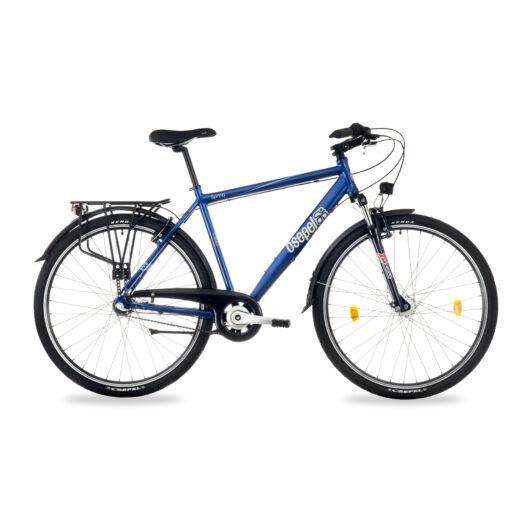 """Csepel Spring 100 28"""" 3 seb agyváltós férfi kerékpár - Kék"""