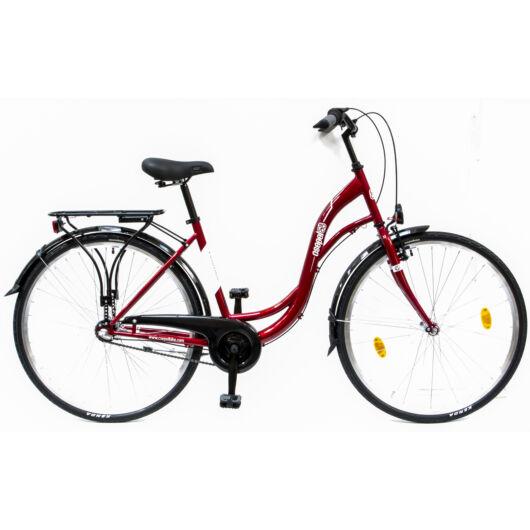 Csepel Velence kerékpár, 3 seb. agyváltó - Piros