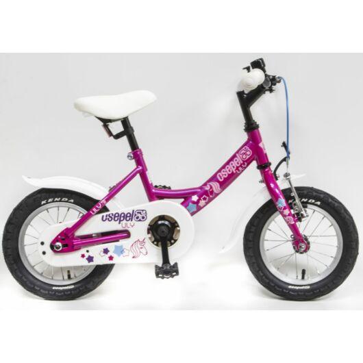 """Csepel Lily 12"""" gyermek kerékpár - Lila"""