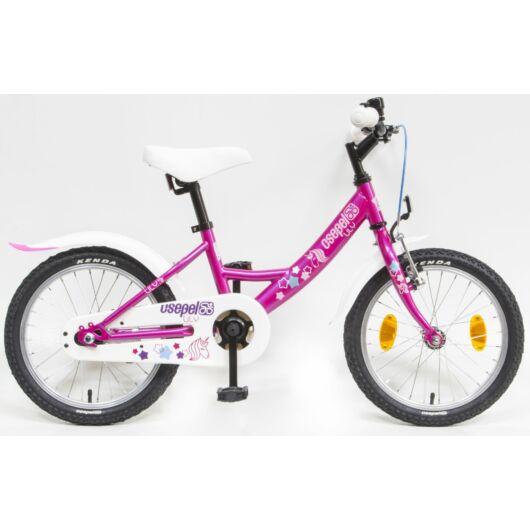 """Csepel Lily 16"""" gyermek kerékpár - Lila"""