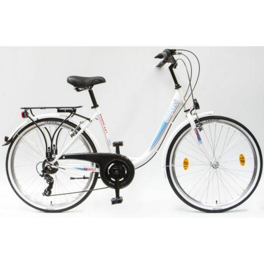 Csepel Cruiser férfi kerékpár, 7 sebesség - Kék