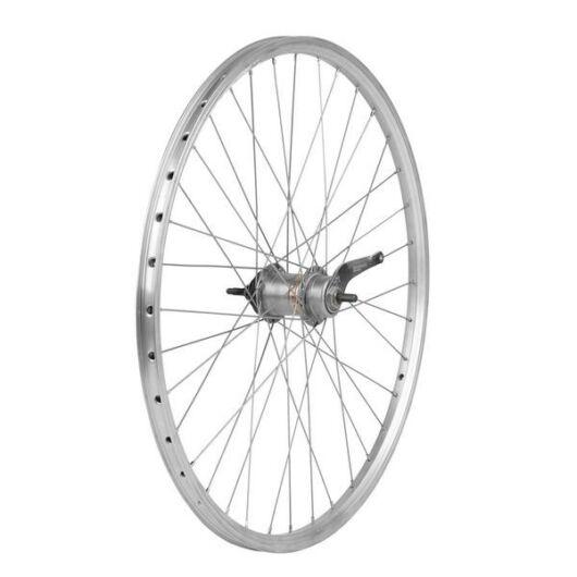 Kerékpár hátsó duplafalú kontrafékes kerék - 26 x 1,75