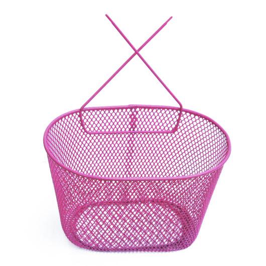 Fém gyermek kosár - Rózsaszín