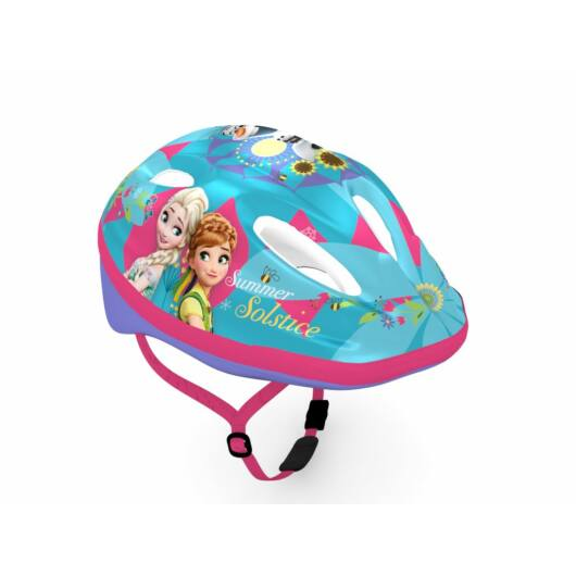 Kerékpáros gyermek fejvédő - Jégvarázs szereplőivel