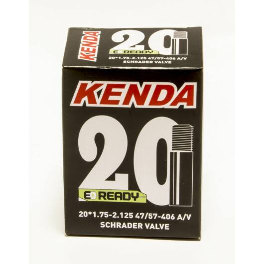 20X1,75 - 2,125 KENDA kerékpár belső gumi - motor szeleppel
