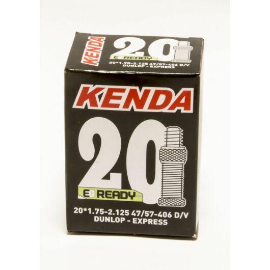 20X1,75 - 2,125 KENDA kerékpár belső gumi - normál szeleppel