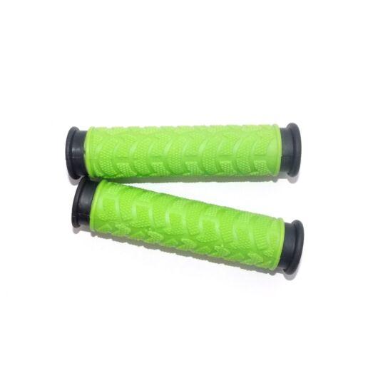 Kerékpár markolat gumis - zöld 130 mm