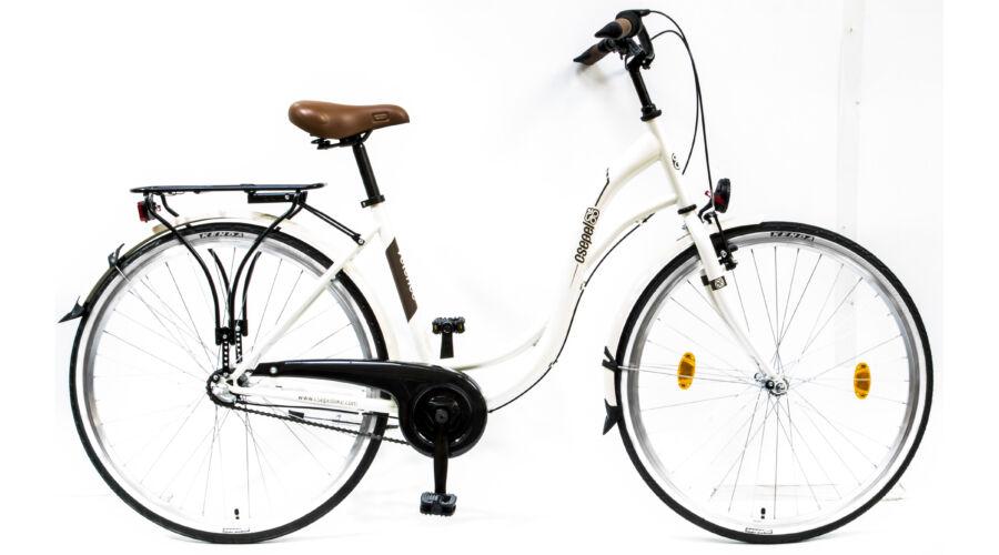 93f31a198844 Csepel Velence kerékpár, 3 seb. agyváltó - Fehér - Városi kerékpárok